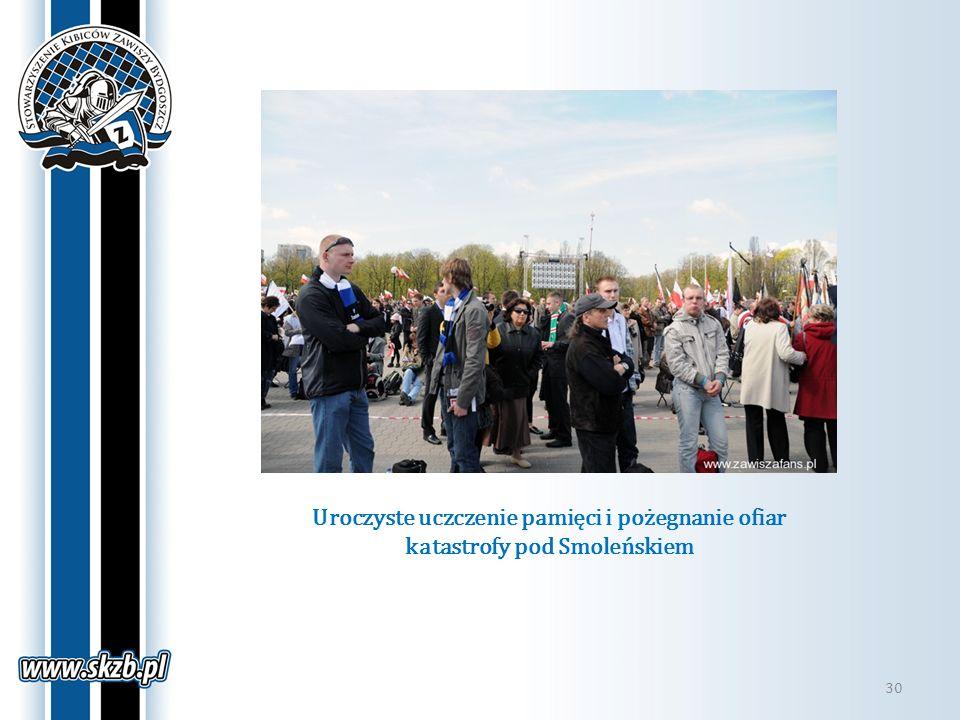 Uroczyste uczczenie pamięci i pożegnanie ofiar katastrofy pod Smoleńskiem 30