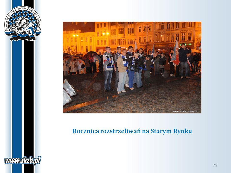 Rocznica rozstrzeliwań na Starym Rynku 73