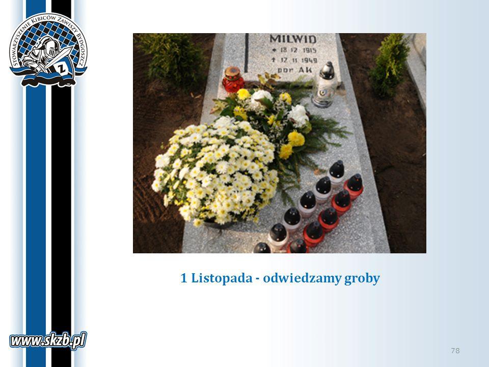 1 Listopada - odwiedzamy groby 78