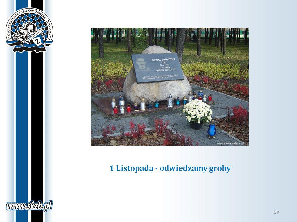 1 Listopada - odwiedzamy groby 80