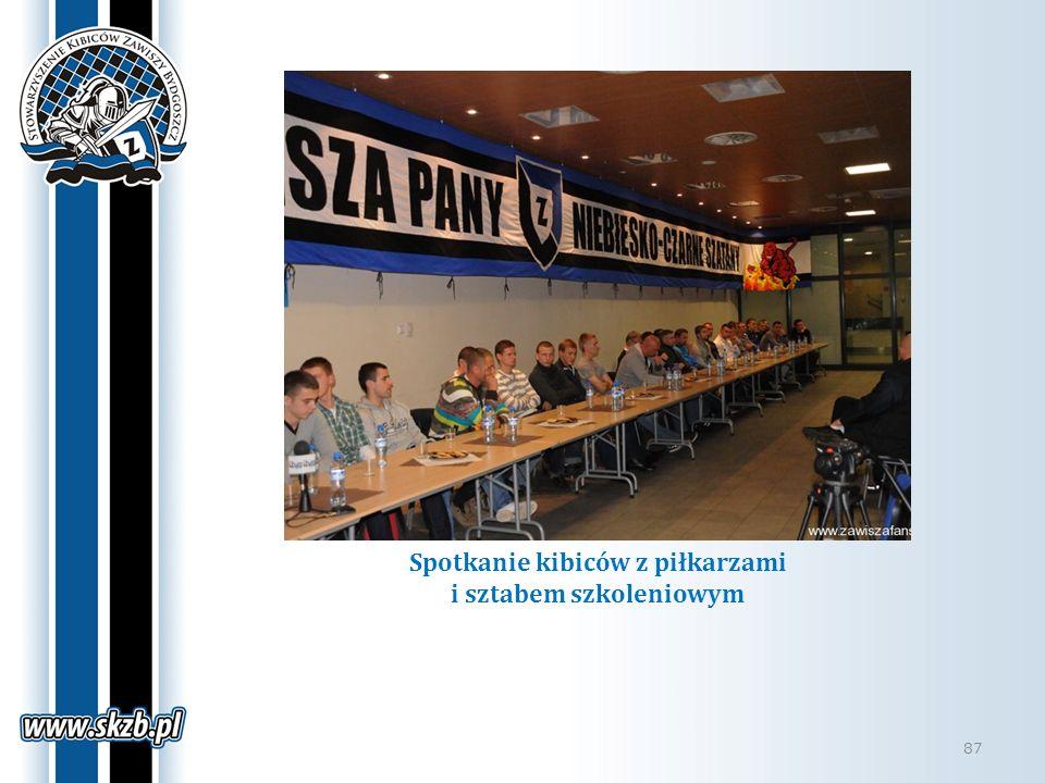 Spotkanie kibiców z piłkarzami i sztabem szkoleniowym 87