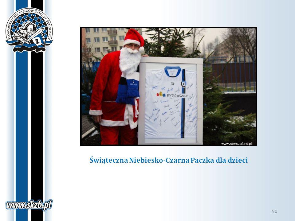 Świąteczna Niebiesko-Czarna Paczka dla dzieci 91