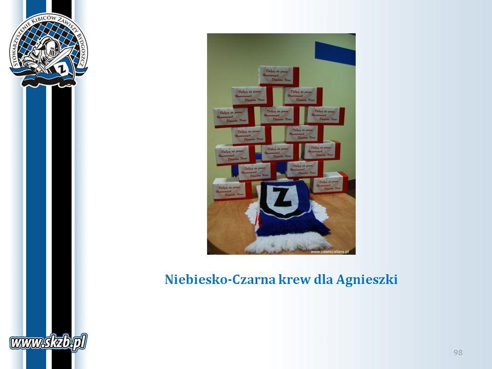 Niebiesko-Czarna krew dla Agnieszki 98