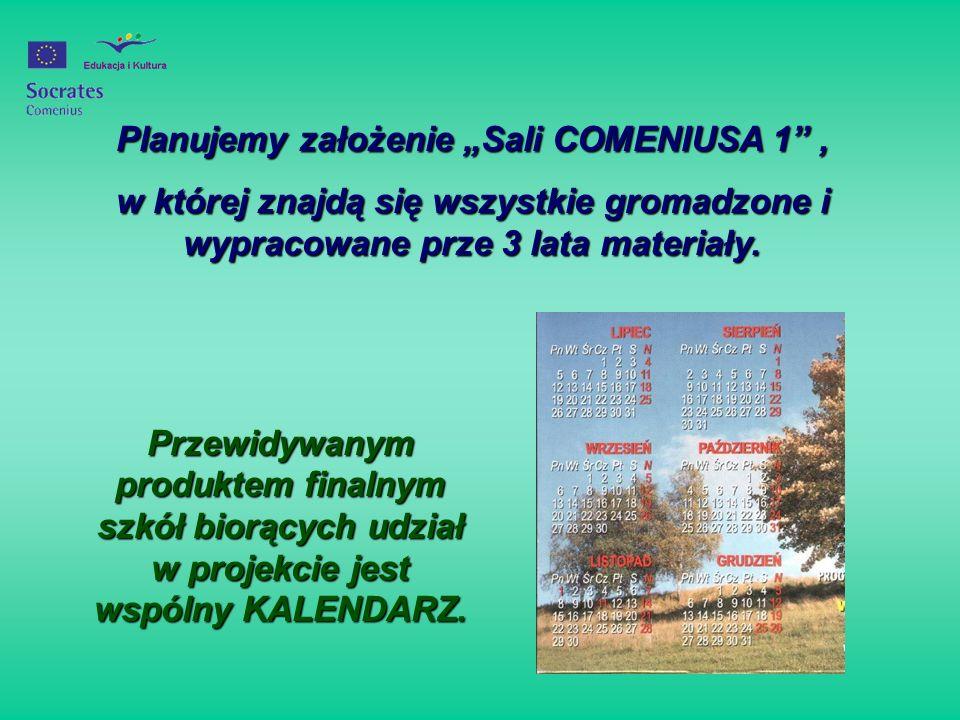 W roku szkolnym 2004/2005 przystąpiliśmy do projektu SOCRATES COMENIUS 1 pod hasłem: Woda w naszym otoczeniu i innych miejscach