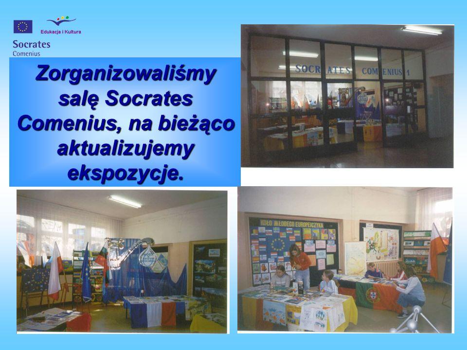 Braliśmy udział w TARGACH COMENIUSA Sosnowiec – listopad 2004 K r o p e l k i