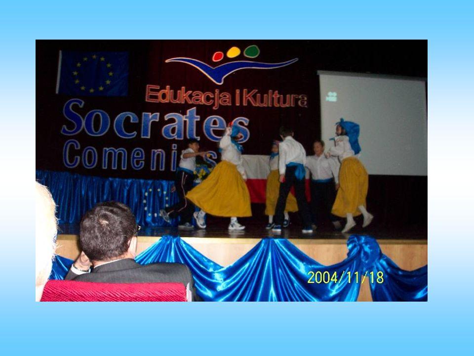 Uczestniczyliśmy w TARGACH COMENIUSA w TARGACH COMENIUSA w Starostwie Będzińskim