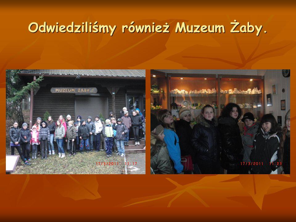 Odwiedziliśmy również Muzeum Żaby.