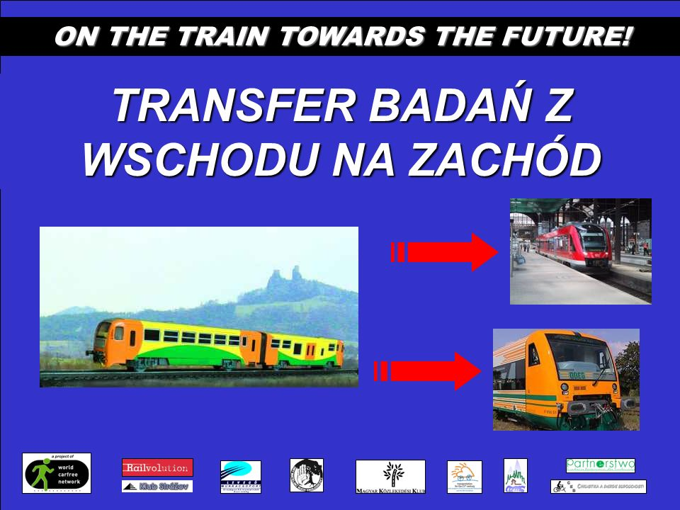 ON THE TRAIN TOWARDS THE FUTURE! TRANSFER BADAŃ Z WSCHODU NA ZACHÓD
