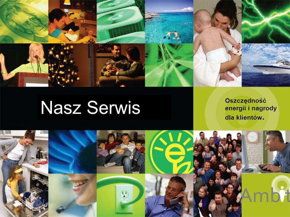 Nasz Serwis Our Service Oszczędność energii i nagrody dla klientów.
