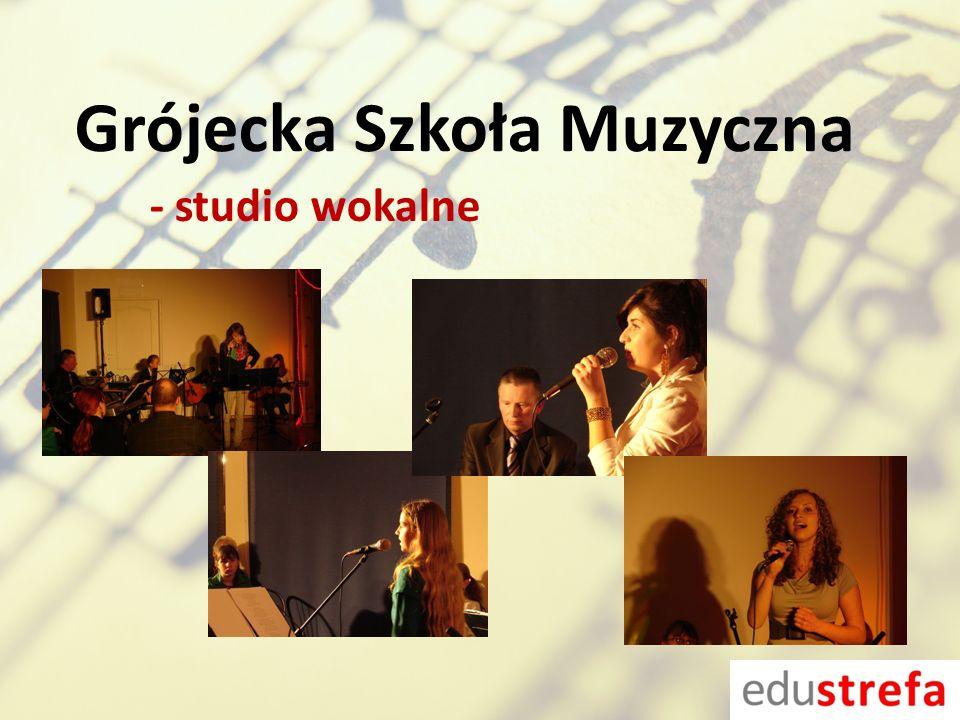 Grójecka Szkoła Muzyczna - studio wokalne