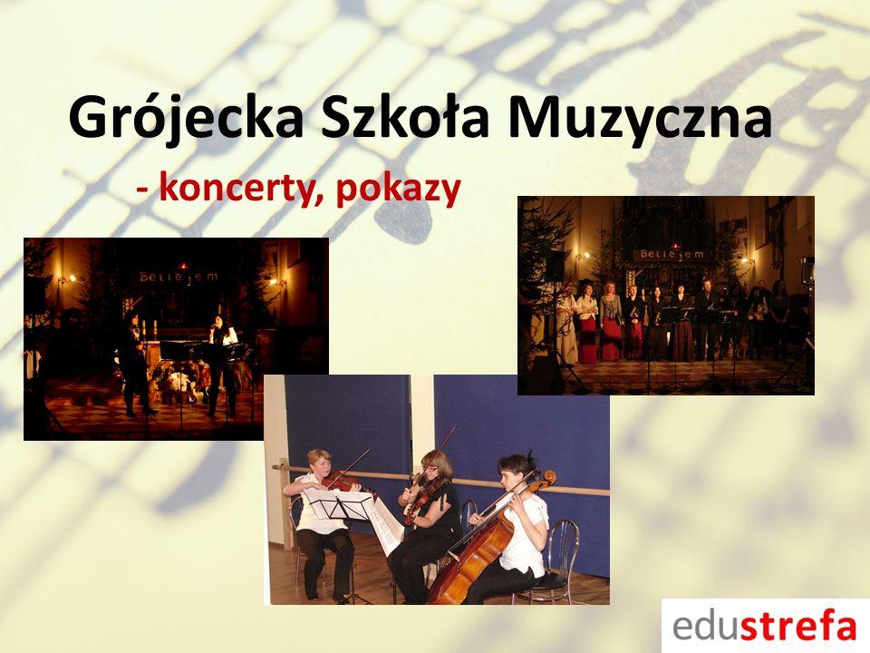 Grójecka Szkoła Muzyczna - koncerty, pokazy