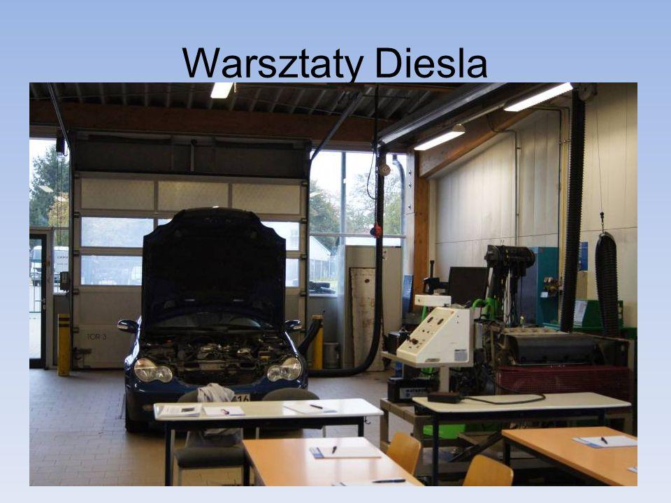 Warsztaty Diesla