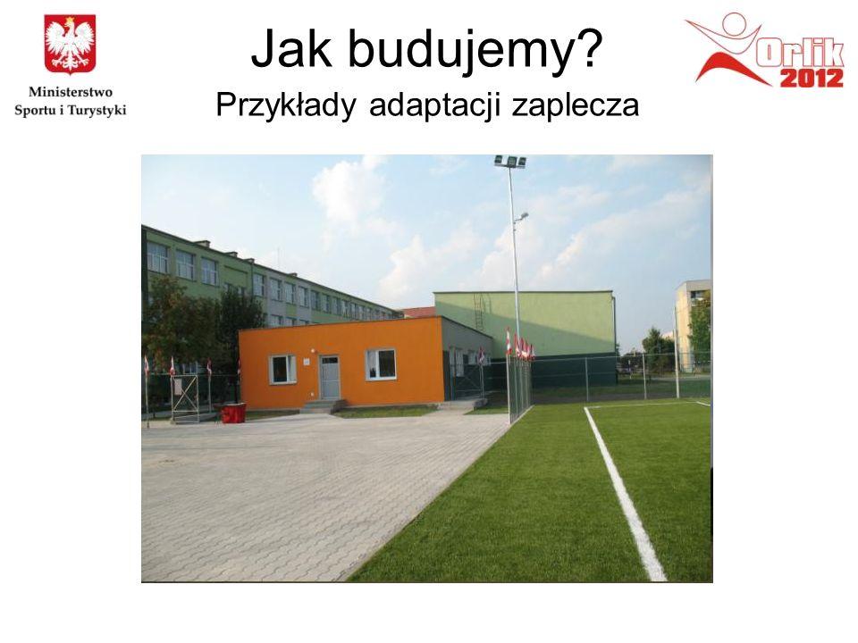 Jak budujemy? Przykłady adaptacji zaplecza