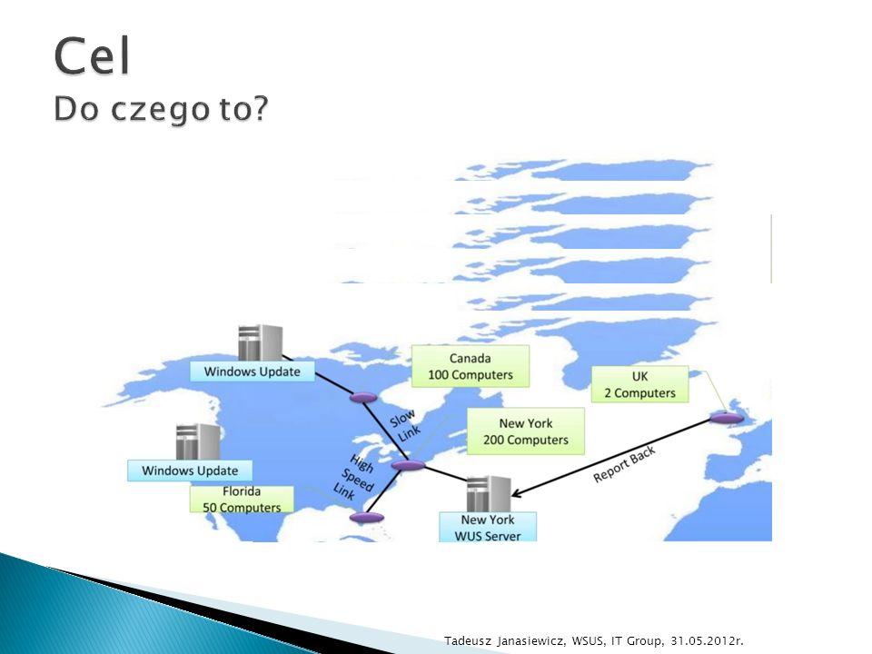 Tadeusz Janasiewicz, WSUS, IT Group, 31.05.2012r.