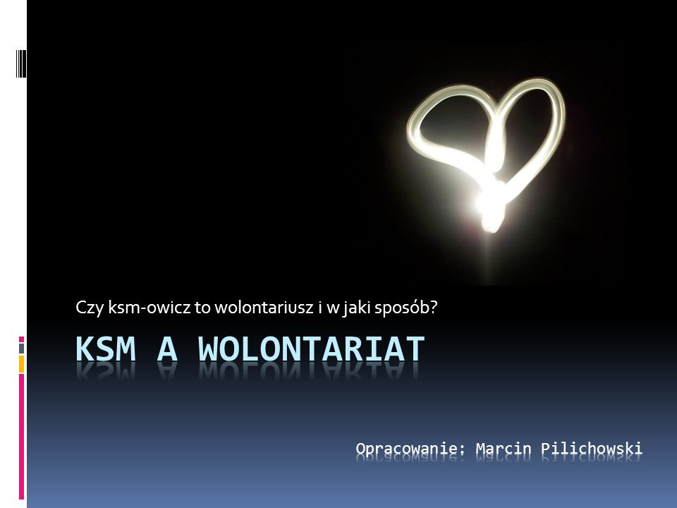 Co to jest wolontariat Wolontariat (łac.