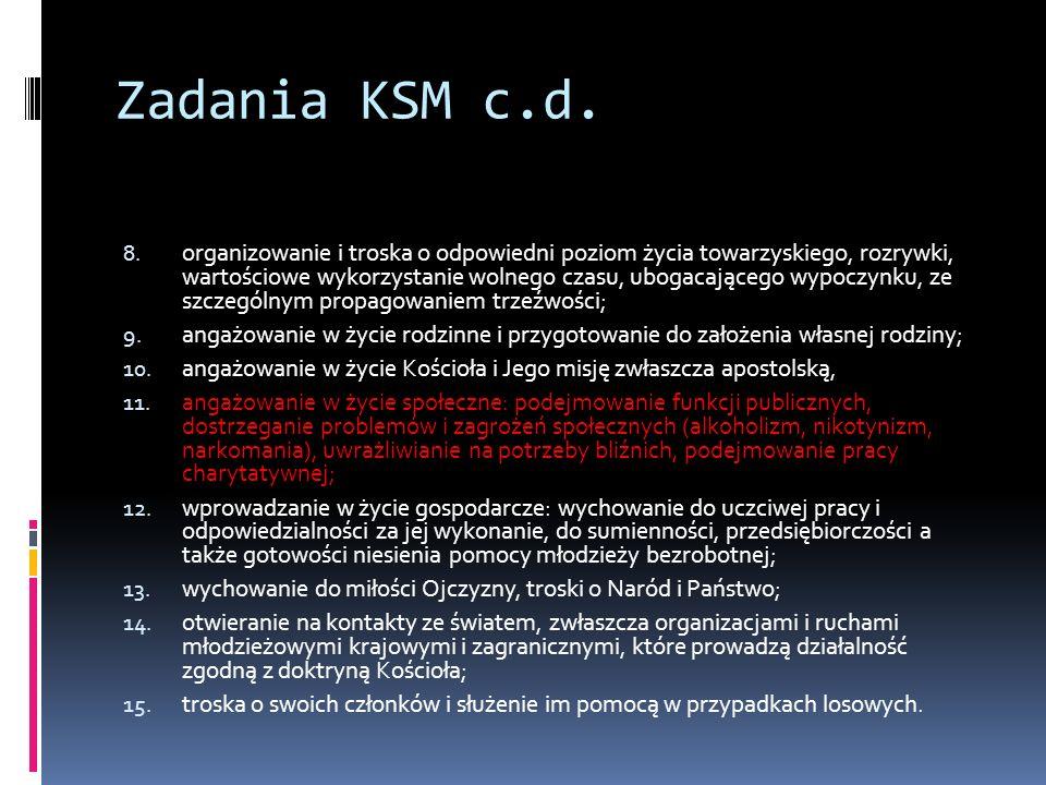 Zadania KSM c.d.8.