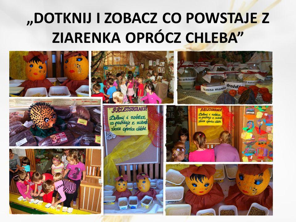 My wszyscy Polacy Mamy zwyczaj taki, Że nasz chlebek biały, czarny Zajadamy, uwielbiamy I z lekkością go wtrawiamy No bo przecież Cóż bez chleba Z głodem Żyć się przecież nie da.