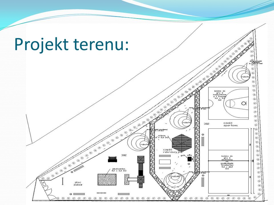 Etapy budowy: Przygotowanie podłoża Zakup materiałów Zamontowanie grilla Utwardzenie części placu, łączącego grill z szałasem Ustawienie ławo-stołu Wysianie trawy