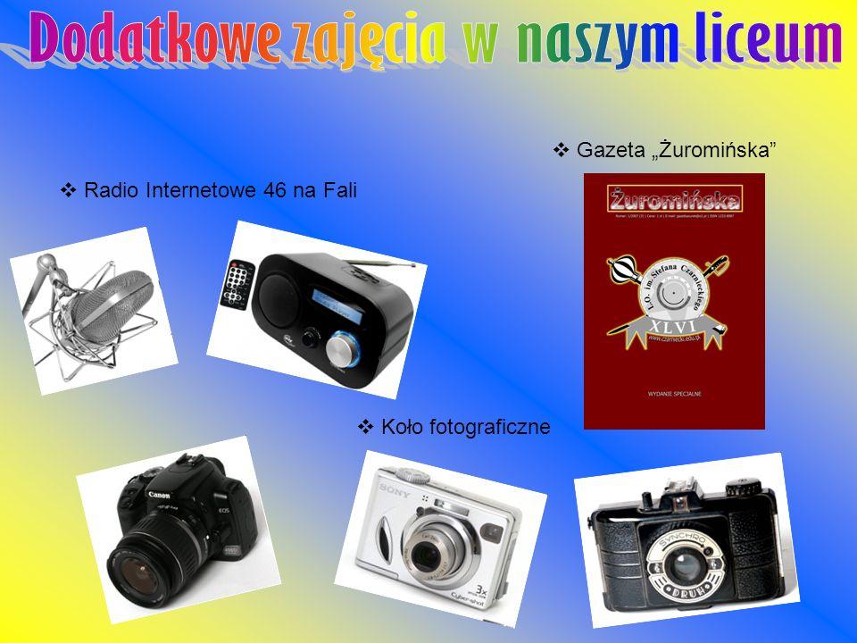Radio Internetowe 46 na Fali Gazeta Żuromińska Koło fotograficzne