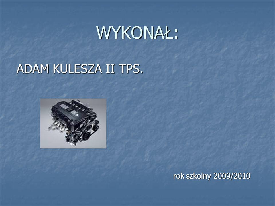 WYKONAŁ: ADAM KULESZA II TPS. rok szkolny 2009/2010 rok szkolny 2009/2010