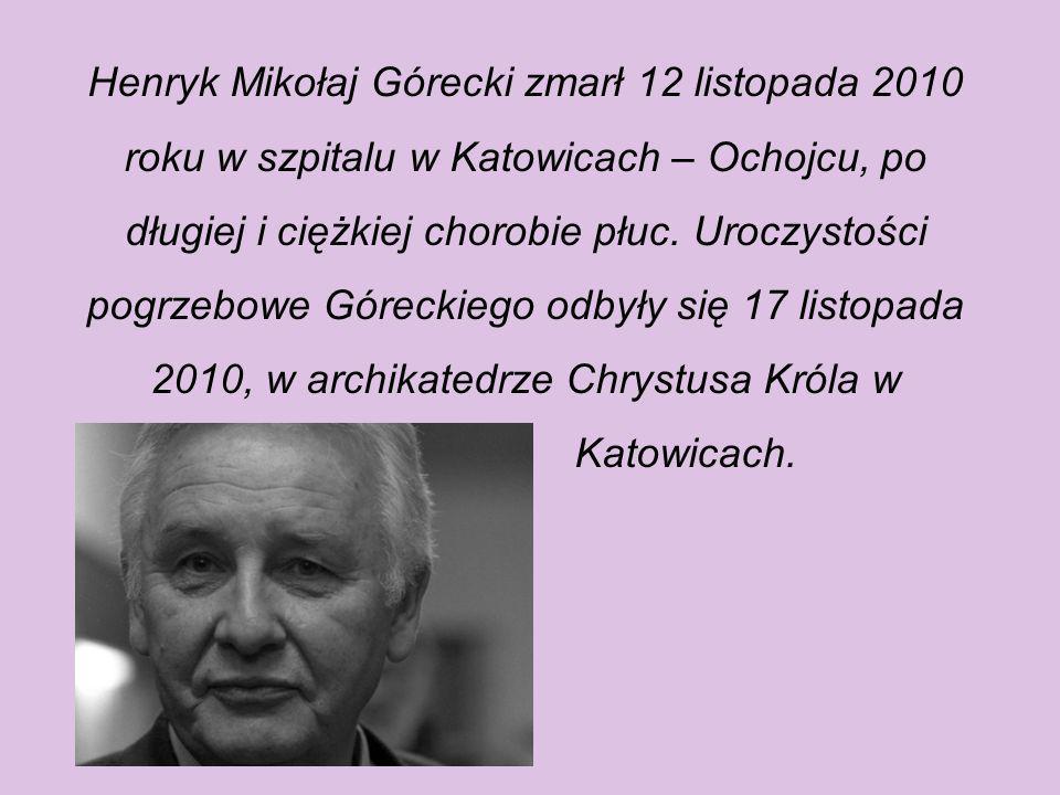 Odznaczenia Odznaczony Orderem Orła Białego (2010), Orderem Ecce Homo (2000),Krzyżem Komandorskim Orderu Odrodzenia Polski (1994), Krzyżem Komandorski