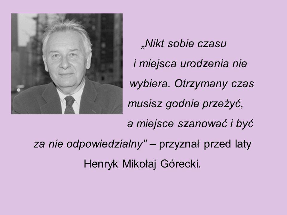 Urodził się w 6 grudnia 1933 r. w Czernicy, w powiecie rybnickim. Ojciec, Roman Górecki, był kolejarzem. Matka, Otylia Górecka, zmarła w dniu drugich