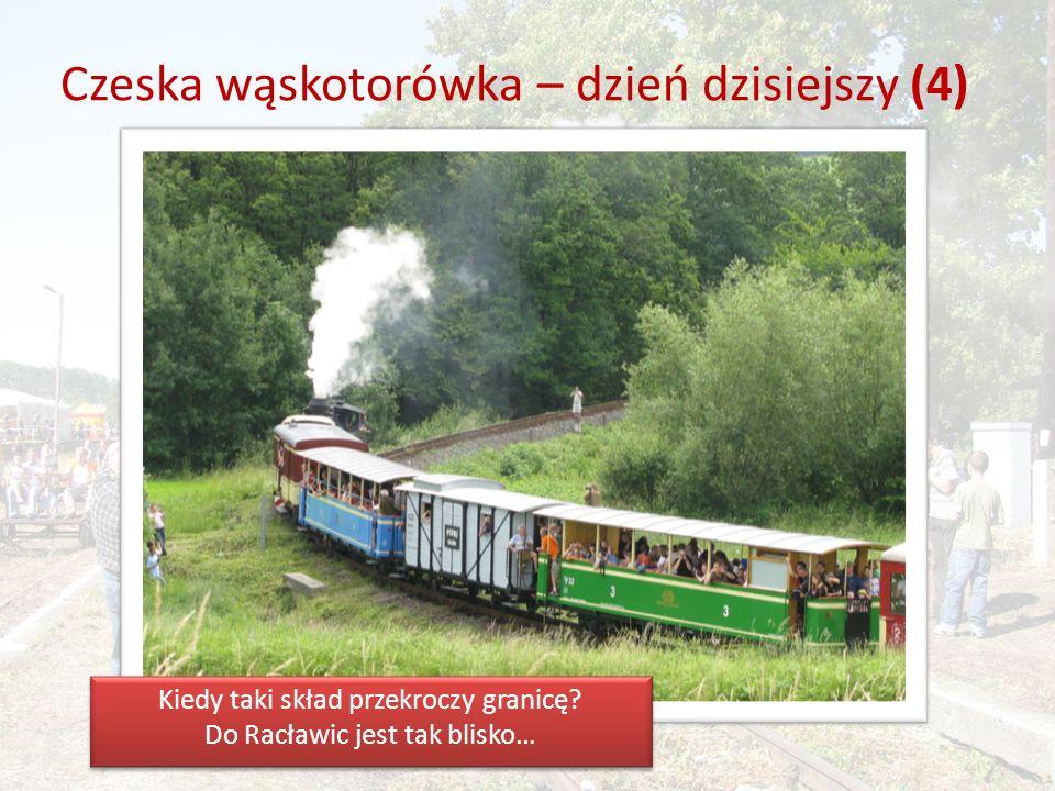 Koleją po pograniczu polsko-czeskim (2) Przygotowania do pikniku kolejowego.