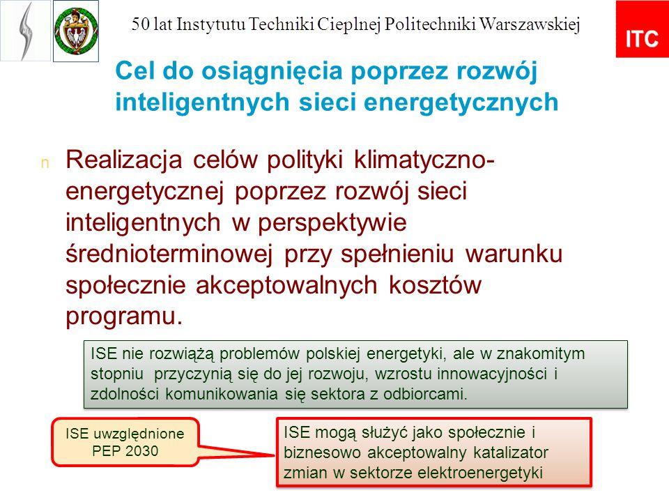Następujące podmioty zostały zidentyfikowane jako główni zainteresowani rozwojem SM w Polsce: Decydenci na poziomie centralnym i lokalnym (Ministerstwo Gospodarki, Ministerstwo Ochrony Środowiska, samorządy już zaangażowane); Urząd Regulacji Energetyki (URE), Narodowy Fundusz Ochrony Środowiska i Gospodarki Wodnej; organy normalizacyjne; OSP, OSD - ee, gaz, (ciepło); sektor publiczny; sektor badań, rozwoju i innowacji; użytkownicy końcowi.