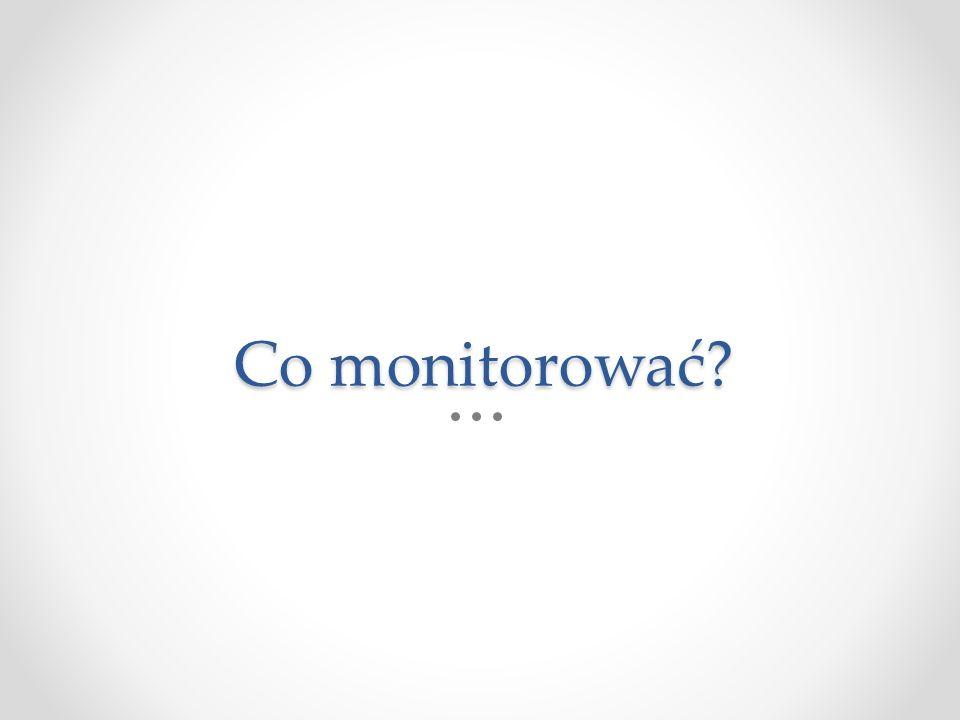 Co monitorować?