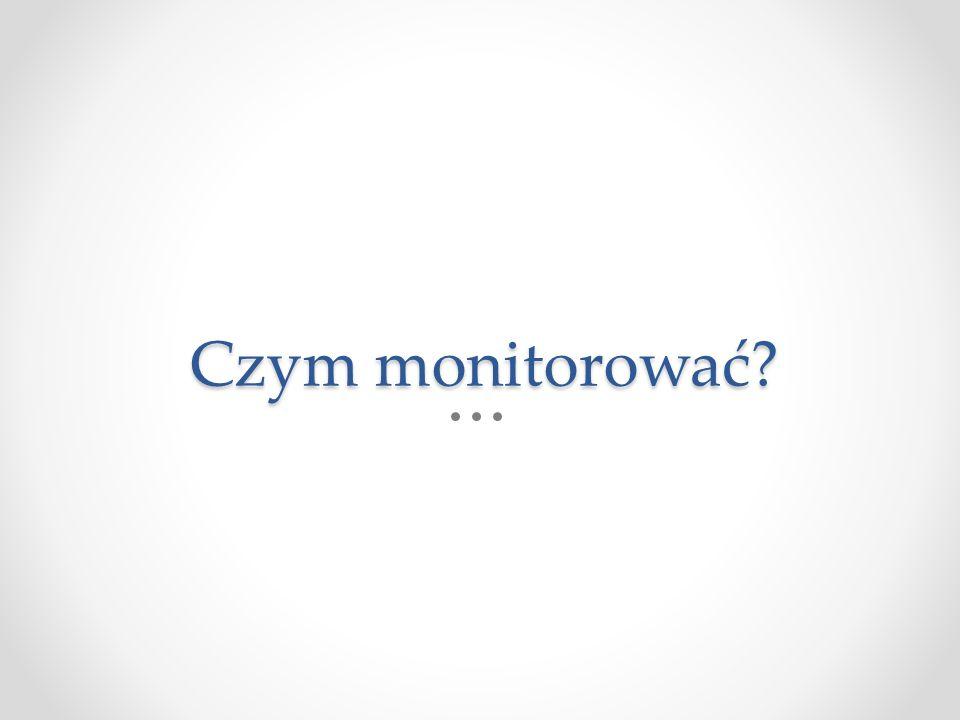 Czym monitorować?