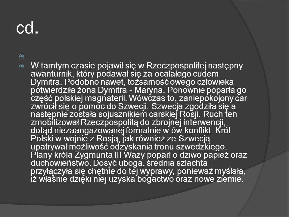 cd.Zaistniała sytuacja bardzo zaniepokoiła Chmielnickiego.