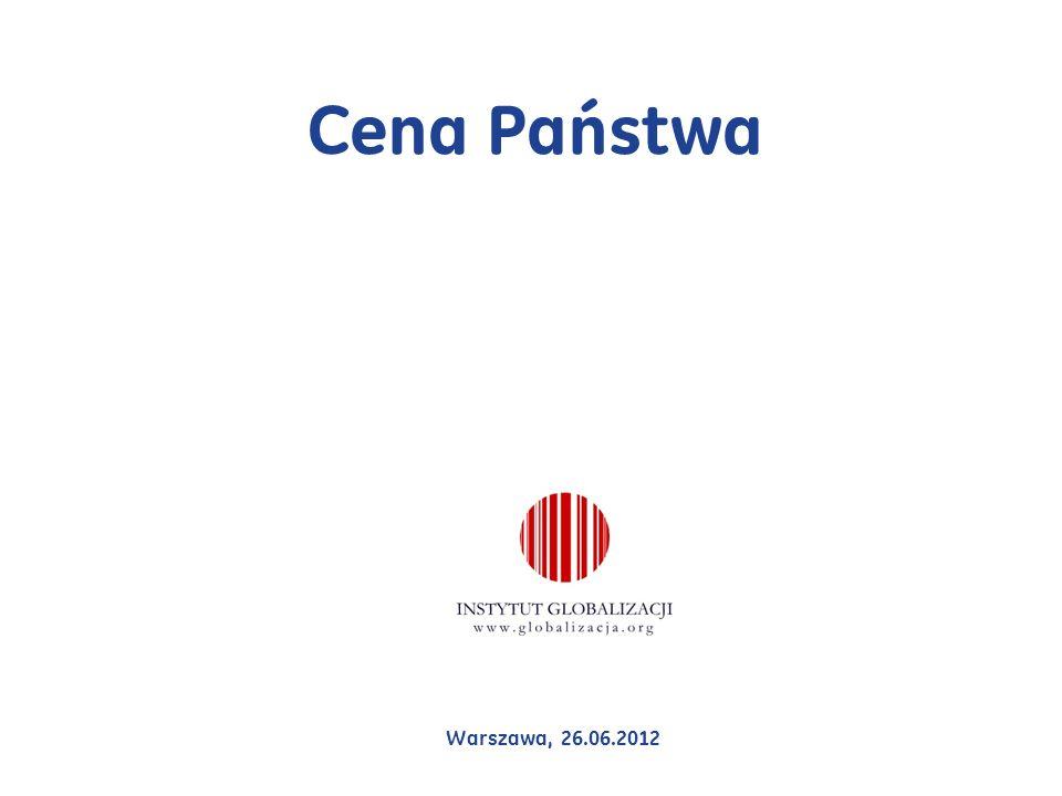 Cena Państwa Warszawa, 26.06.2012