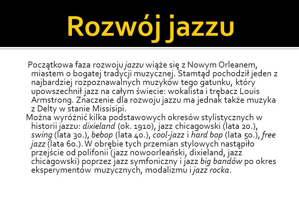 Styl muzyczny, w którym występuje połączenie elementów jazzowych z muzyką elektroniczną.