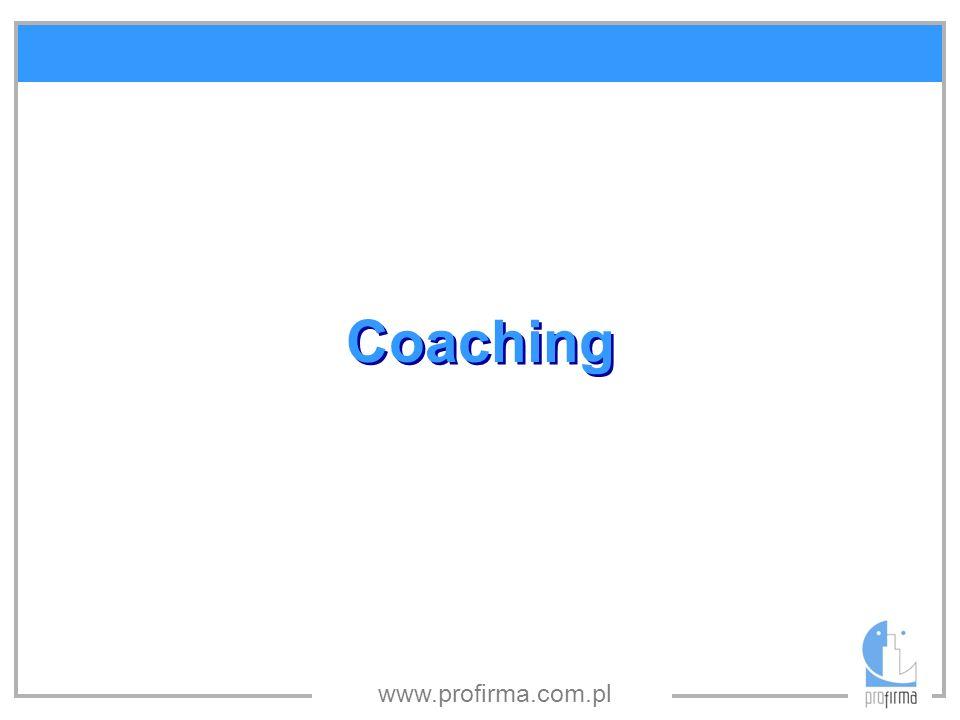 www.profirma.com.pl Coaching