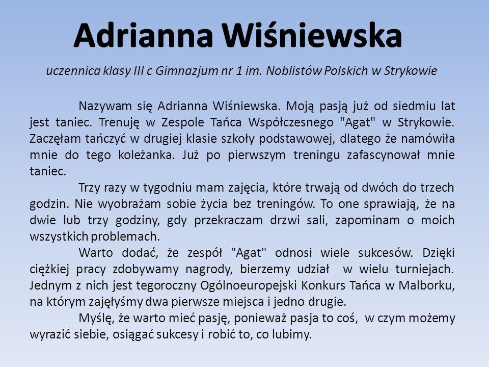 autorka wielu książek Pasje...ważny temat.