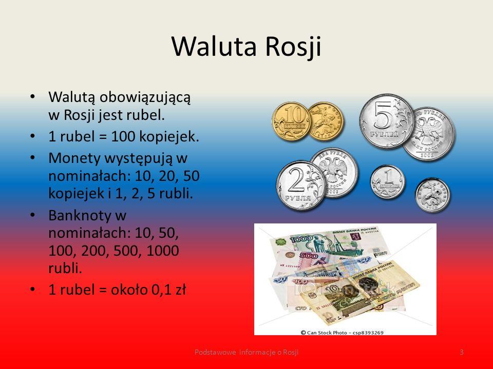 Język w Rosji Ogólnonarodowym językiem urzędowym na całym terytorium Rosji jest język rosyjski.