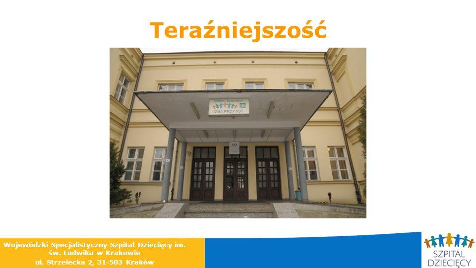 Teraźniejszość Wojewódzki Specjalistyczny Szpital Dziecięcy im. św. Ludwika w Krakowie ul. Strzelecka 2, 31-503 Kraków