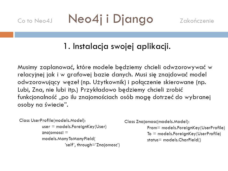 2.Instalacja Neo4j (neo4j.org).