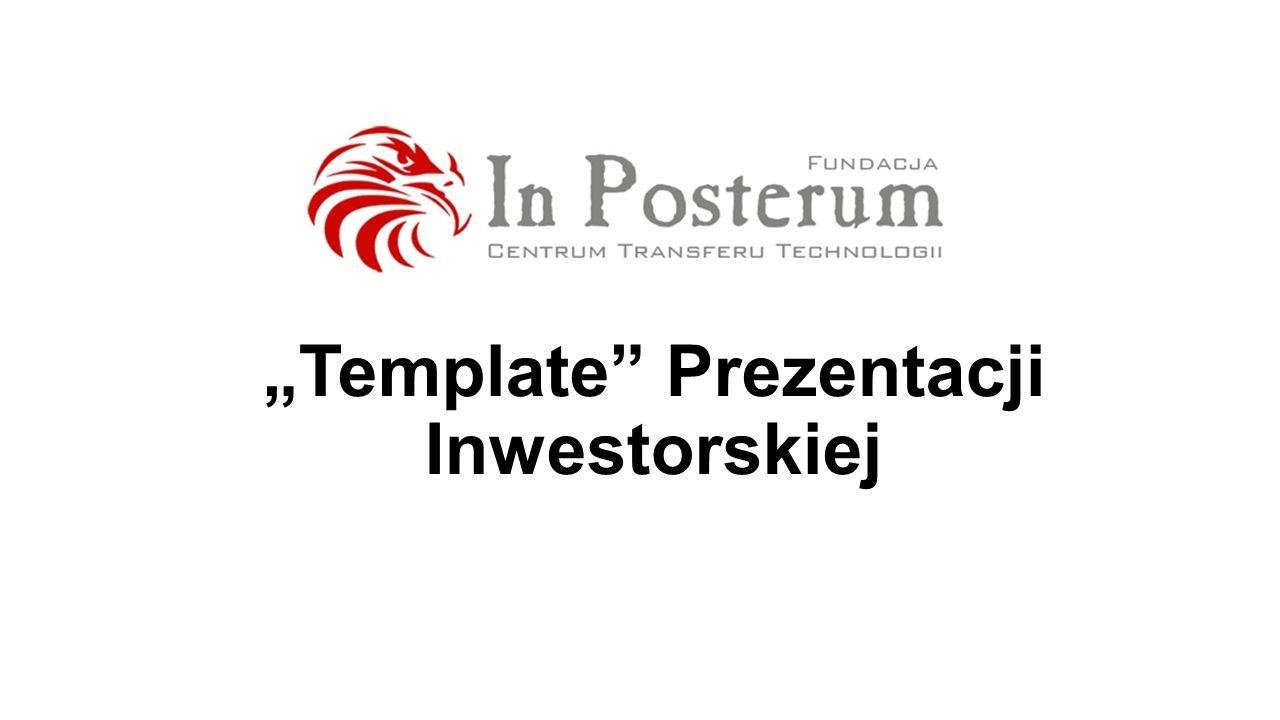 Template Prezentacji Inwestorskiej
