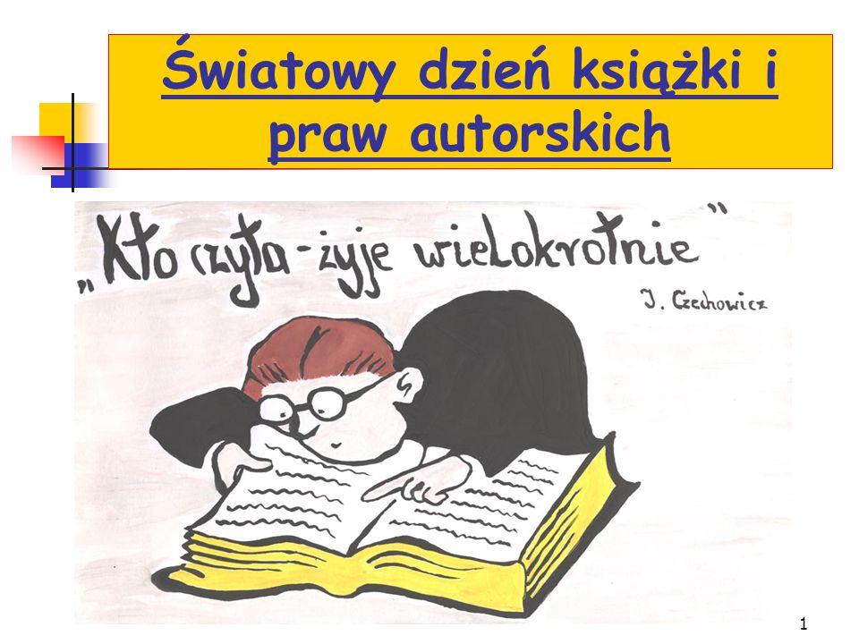1 Światowy dzień książki i praw autorskich