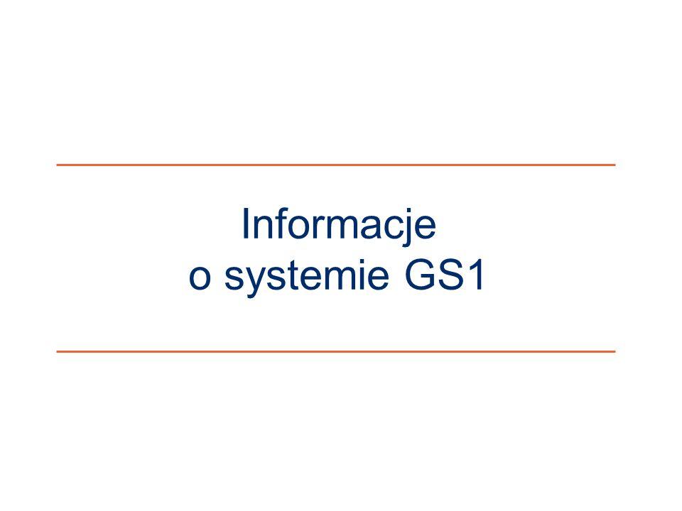 ©2011 ILiM – GS1 Polska 3 Informacje o systemie GS1