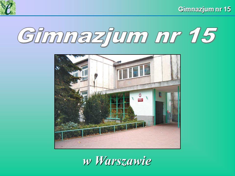 Gimnazjum nr 15