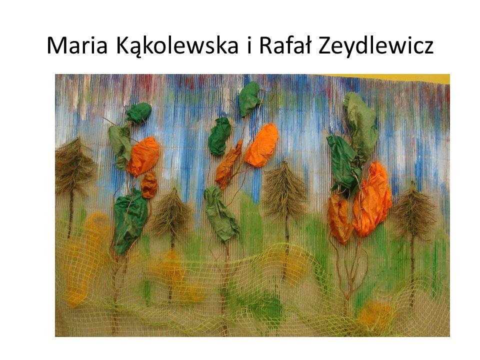 Maria Kąkolewska i Rafał Zeydlewicz