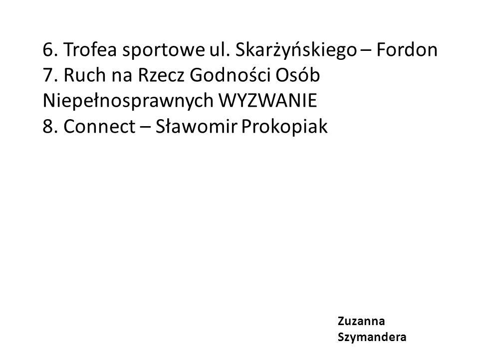 6.Trofea sportowe ul. Skarżyńskiego – Fordon 7.