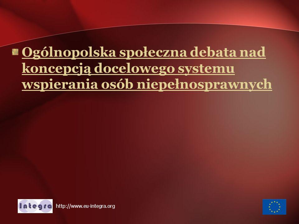 Nadzieja na zmiany http://www.eu-integra.org