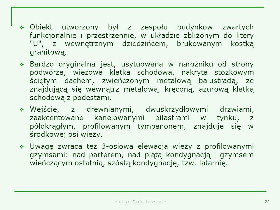 - Młyn Śmiałowice - 20 11. Stare koło żarnowe