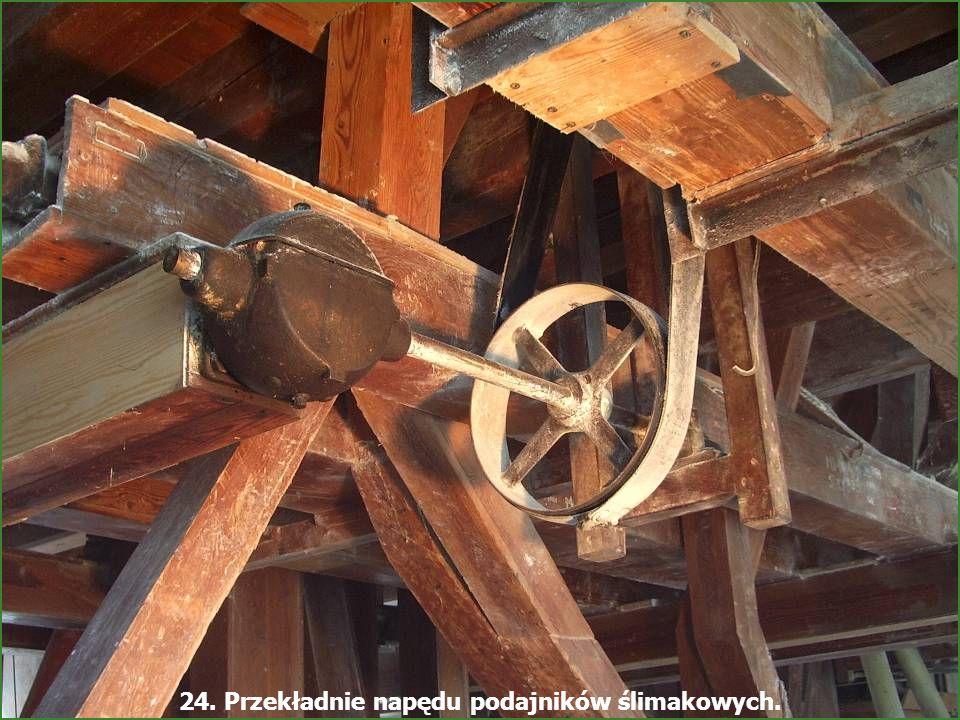 - Młyn Śmiałowice - 33 22. Odsiewacze mąki i drewniane transportery