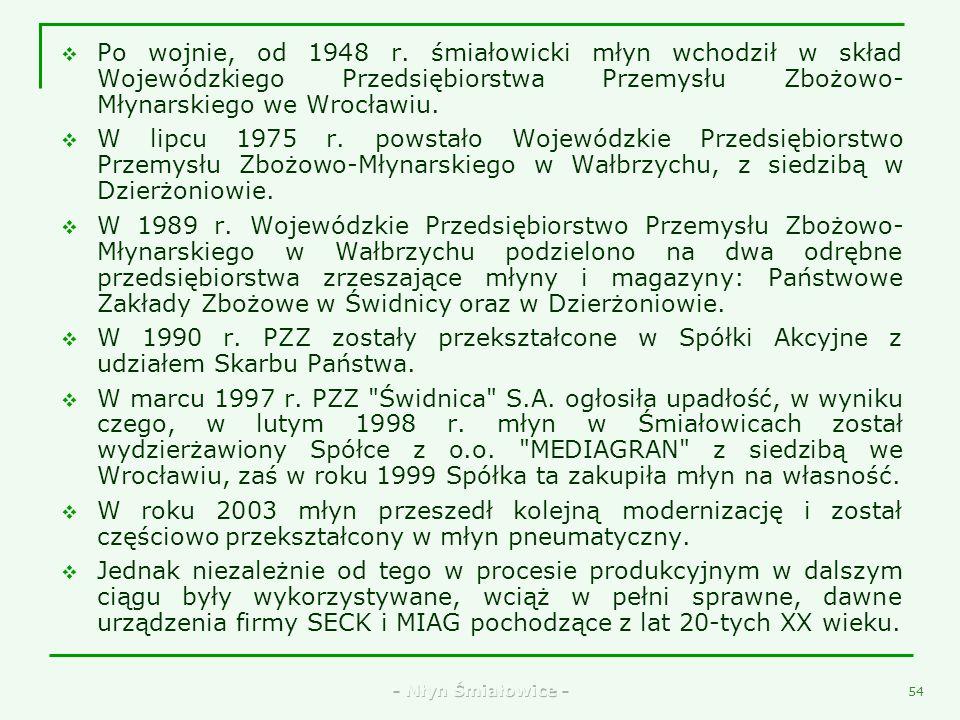 - Młyn Śmiałowice - 52 40. Zabytkowa heblarka
