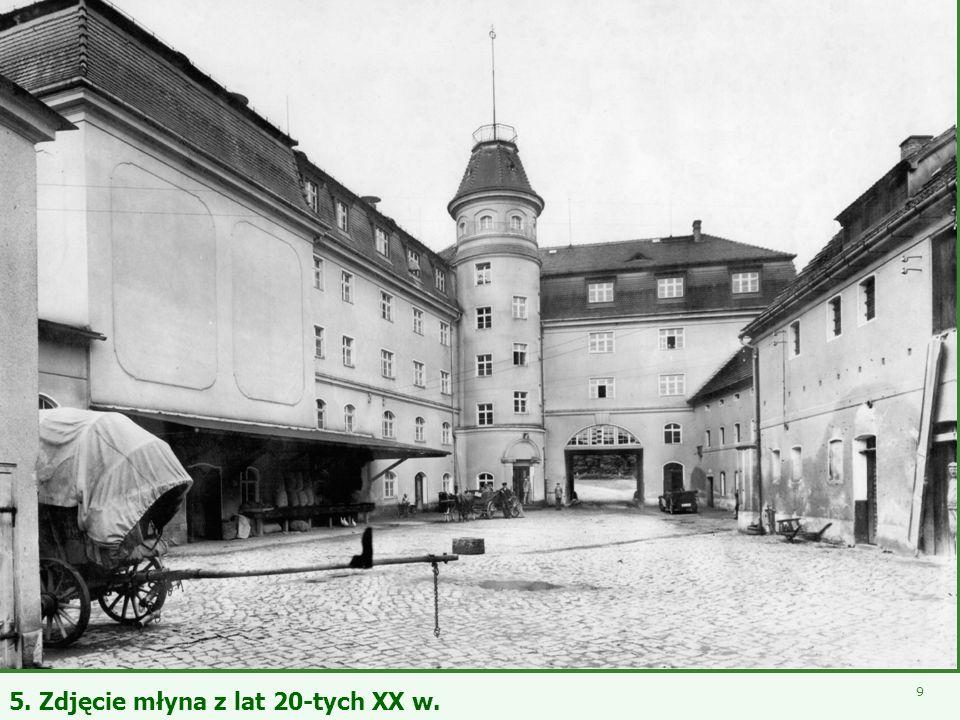 - Młyn Śmiałowice - 7 Fot. Przywieszka do worka z kaszą produkowaną przez młyn w Śmiałowicach (Schmellwitz) w latach 40-tych XX w.