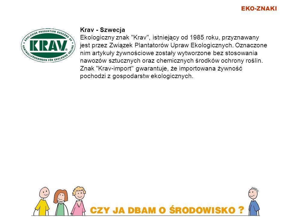 EKO-ZNAKI Łabędź (Svanen) - kraje skandynawskie Od 1989 roku funkcjonuje najbardziej znany, wspólny dla krajów skandynawskich ekologiczny znak towarowy Svanen (Łabędź).